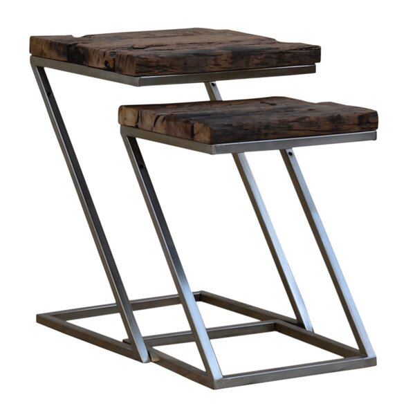 Digennaro 2 Piece Nesting Tables by 17 Stories