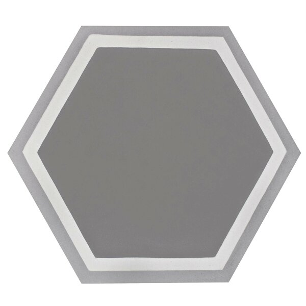 Ciment 7.875 x 9 Cement Field Tile in Gray by EliteTile