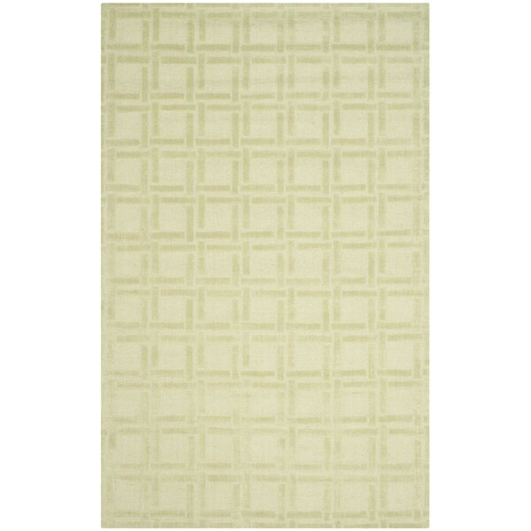 Opal Lime Area Rug by Charlton Home