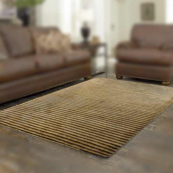 Miamisburg Machine-Woven Polyester Brown Area Rug by Winston Porter