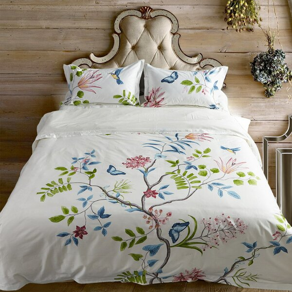 Westbrook 4 Piece Reversible Duvet Cover Set by August Grove
