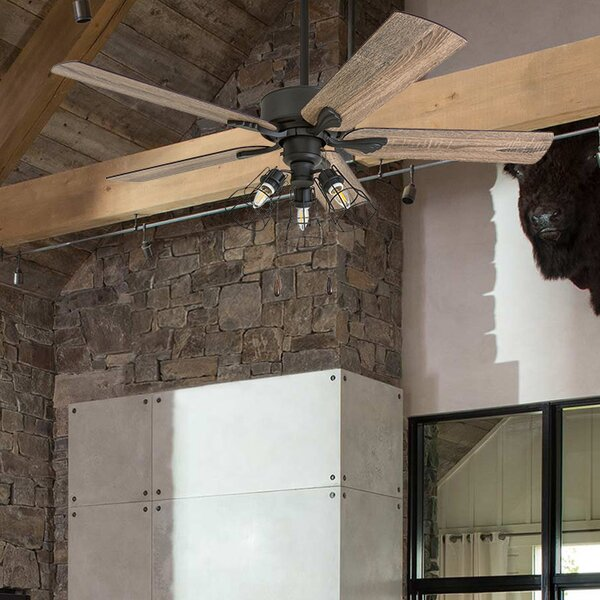 52 Rankins 5 Blade LED Ceiling Fan by Gracie Oaks