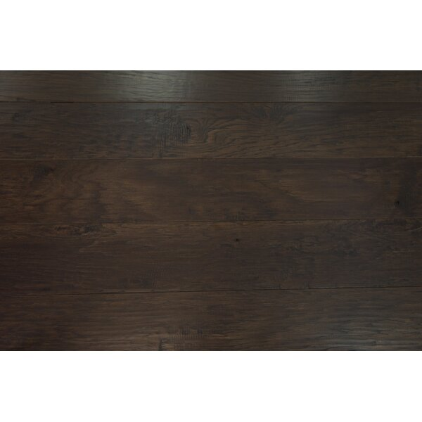 Sydney 7-1/2 Engineered Hickory Hardwood Flooring in Mocha by Branton Flooring Collection