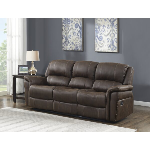 Valuable Today Christofferso Reclining Sofa by Darby Home Co by Darby Home Co