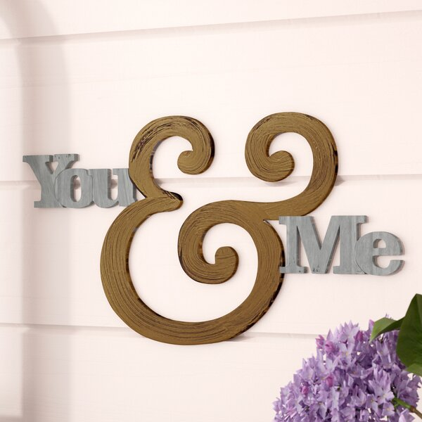 Modern You and Me Wall Décor by Gracie Oaks