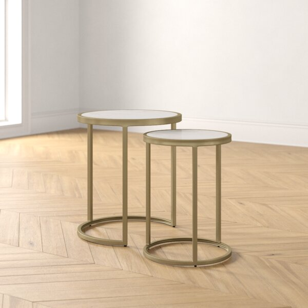 Kit 2 Piece Nesting Tables By Foundstone