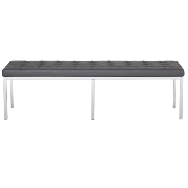 Kleisthenes Leather Bench By Latitude Run