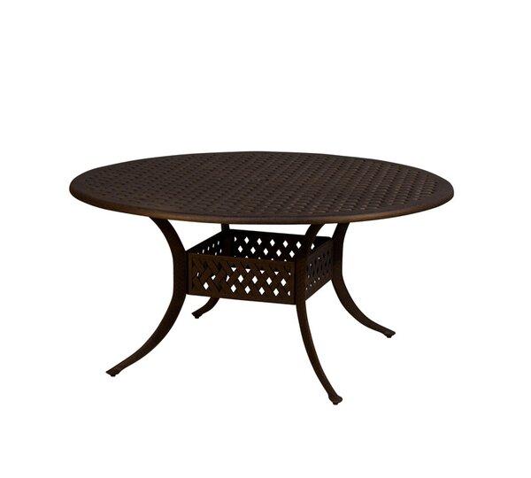 Aldrich Metal Dining Table by Fleur De Lis Living
