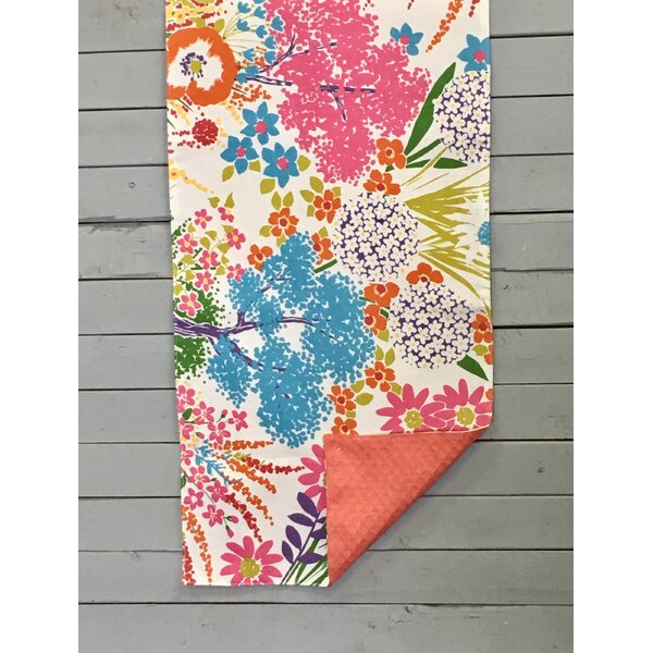 Voth Wild Bouquet Reversible Table Runner by August Grove