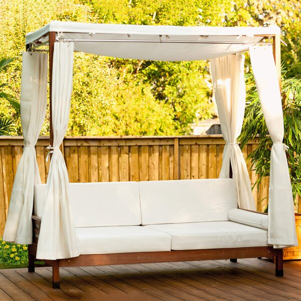 Daybed with Cushions by Leisure Season Leisure Season