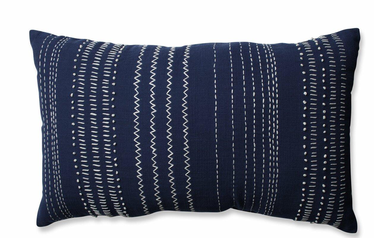 Tribal Stitches 100% Cotton Lumbar Pillow