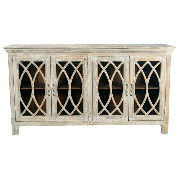 Sierra 4 Glass Door Sideboard by One Allium Way One Allium Way