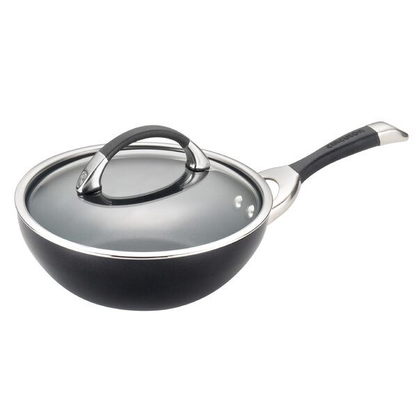 Symmetry 9.5 Non-Stick Frying Pan with Lid by Circulon
