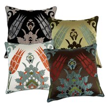 Laser Moroccan Tile Throw Pillow