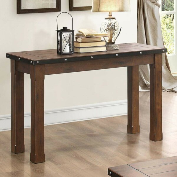 Anouk Wooden Console Table By Millwood Pines