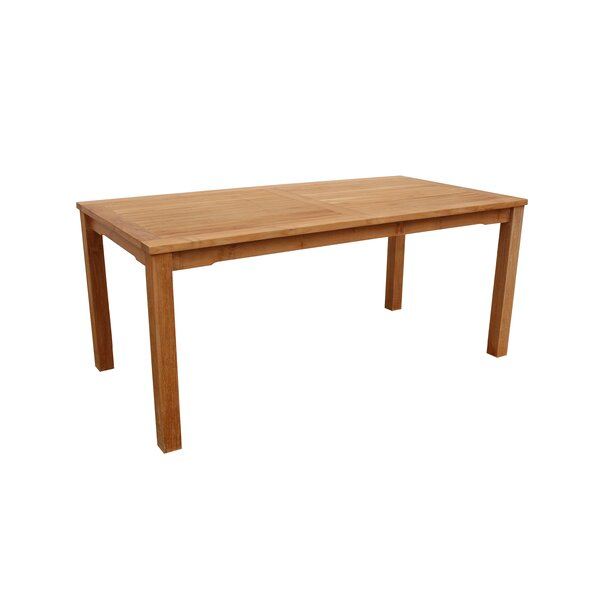 Farnam Teak Dining Table by Rosecliff Heights