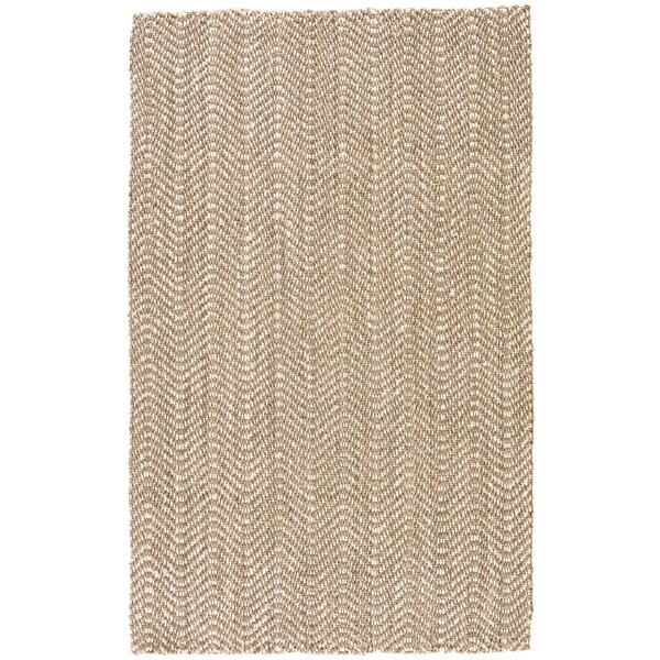 Mayara Hand Woven Taupe Area Rug by Gracie Oaks