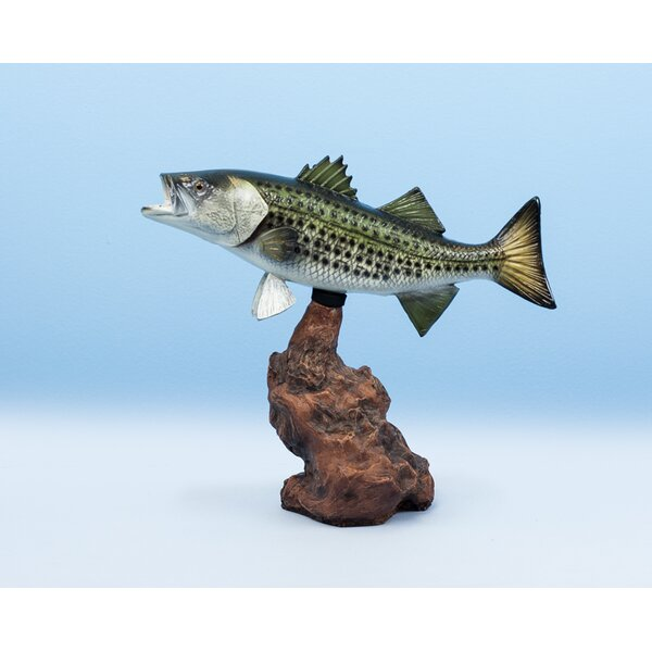 Papke Striped Bass Figurine by Loon Peak