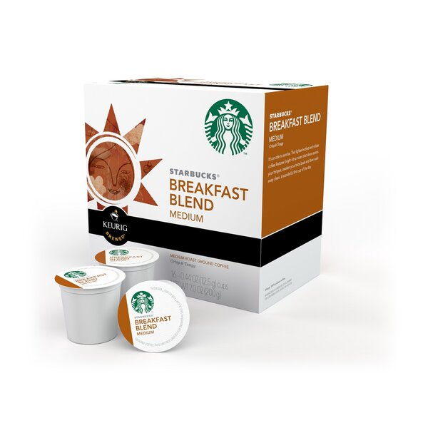 Starbucks Breakfast Blend K-Cup (Pack of 64) by Keurig
