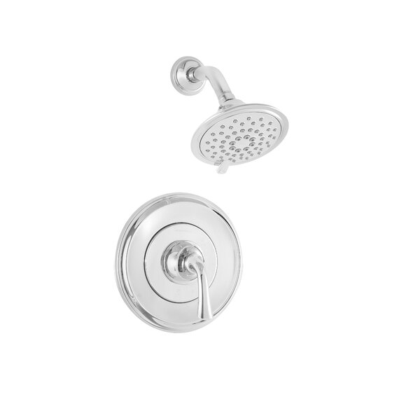 Patience Lever Handle Diverter Shower Faucet with Valve by American Standard