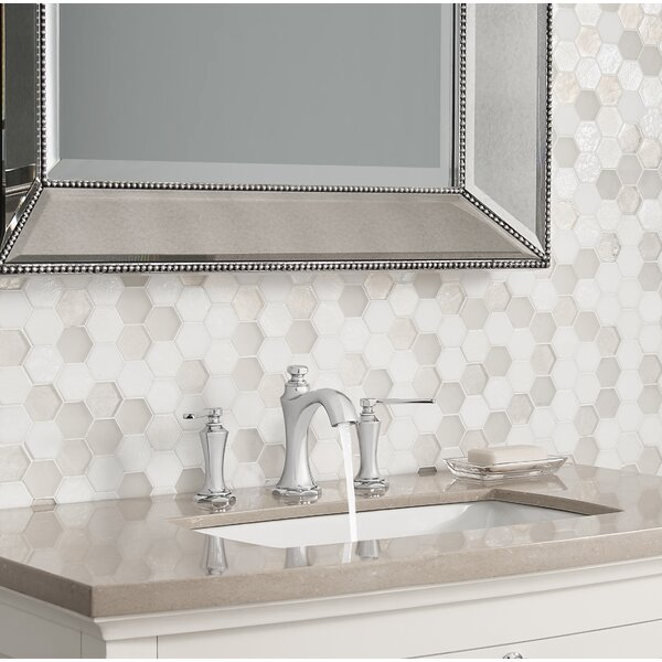 Draper Widespread Bathroom Faucet with Drain Assembly