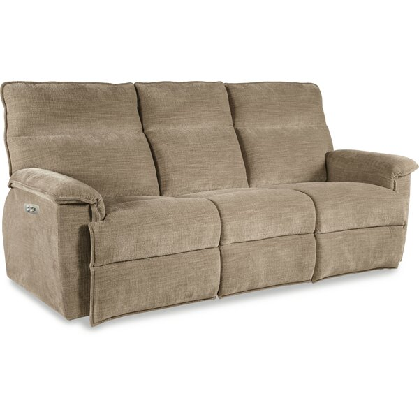 Save Big With Jay La-Z-Time Power-Recline with Power Headrest Full Reclining Sofa by La-Z-Boy by La-Z-Boy