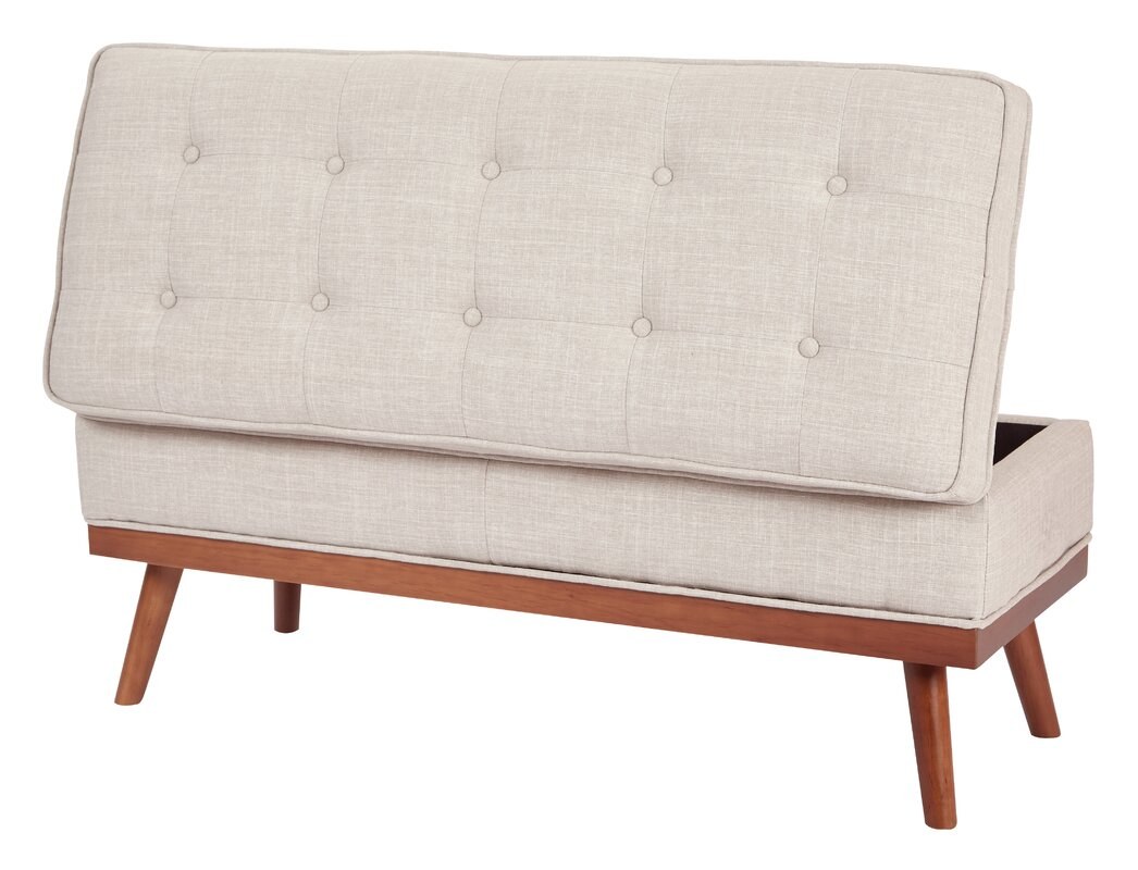 Upholstered Storage Entryway Bench: Ronquillo Upholstered Storage Bench & Reviews