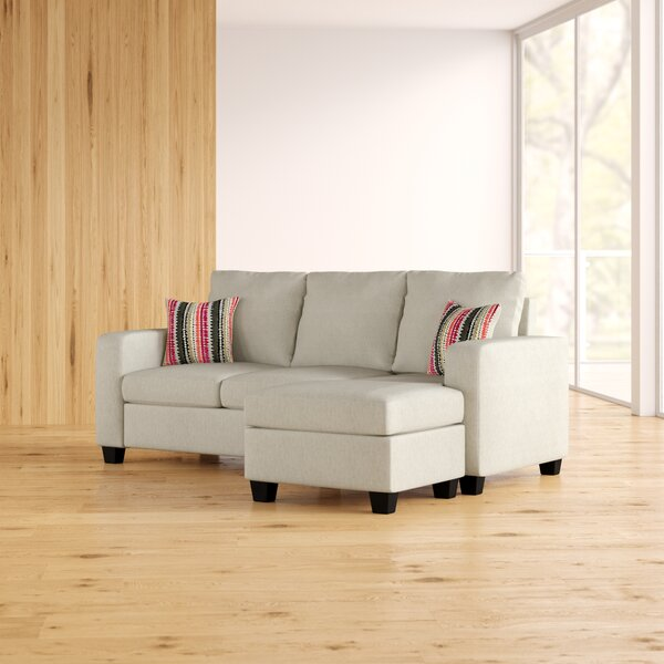 Best #1 Morpheus Reversible Sectional Ottoman By Mercury Row Purchase