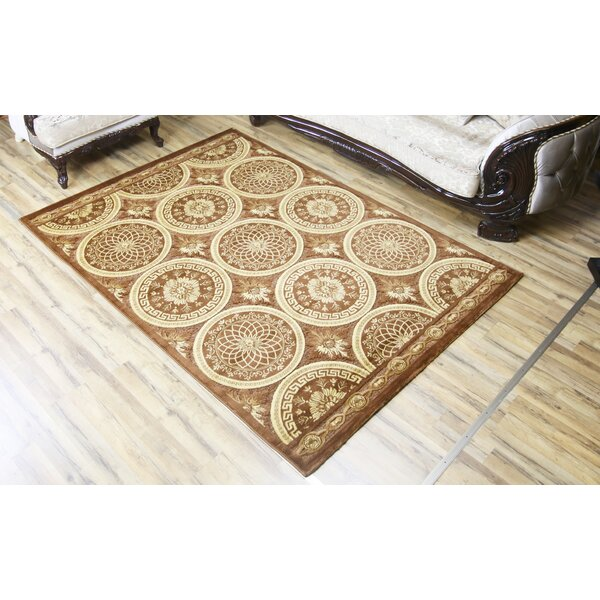 Shonil Brown/Beige Area Rug by Beyan Signature