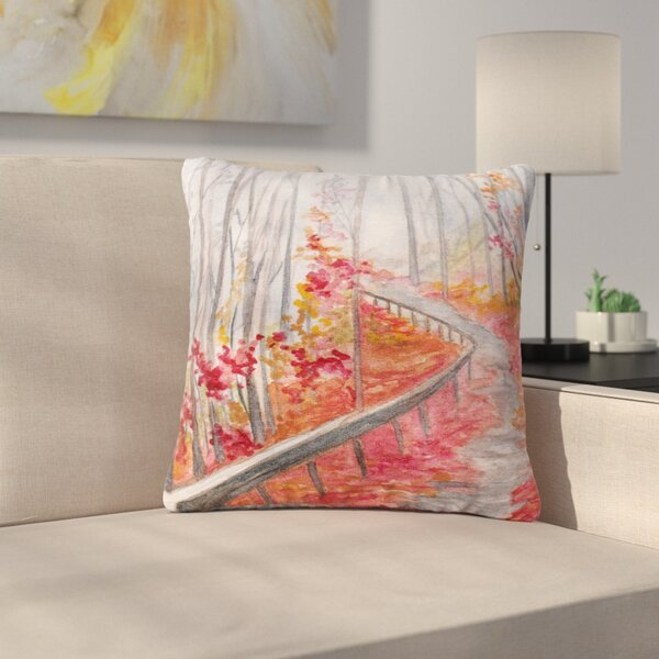 Rosie Brown Amicalola Falls Outdoor Throw Pillow by East Urban Home