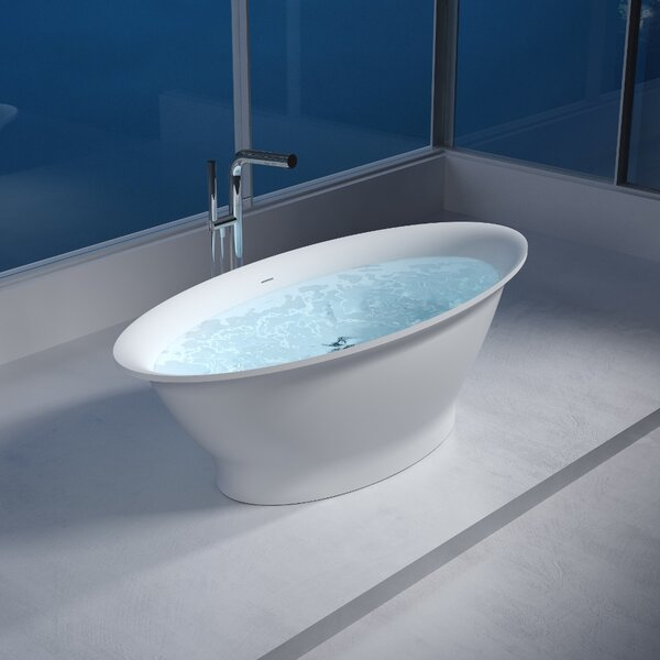 75 x 75 Freestanding Soaking Bathtub by InFurniture