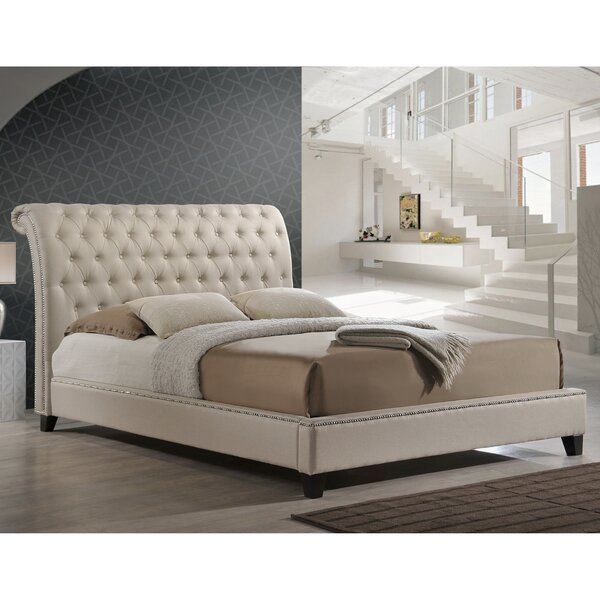Rorie Upholstered Platform Bed by Willa Arlo Interiors