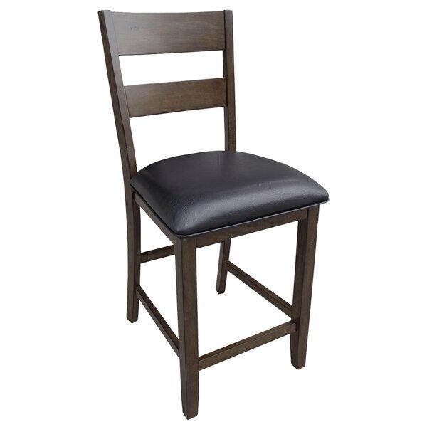 Alder Ladderback Upholstered Dining Chair by Loon Peak
