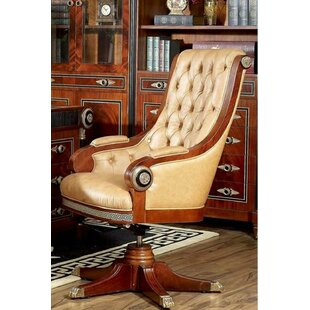 Gary Genuine Leather Executive Chair