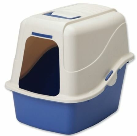 Helms Jumbo Cat Hood Litter Pan by Tucker Murphy Pet