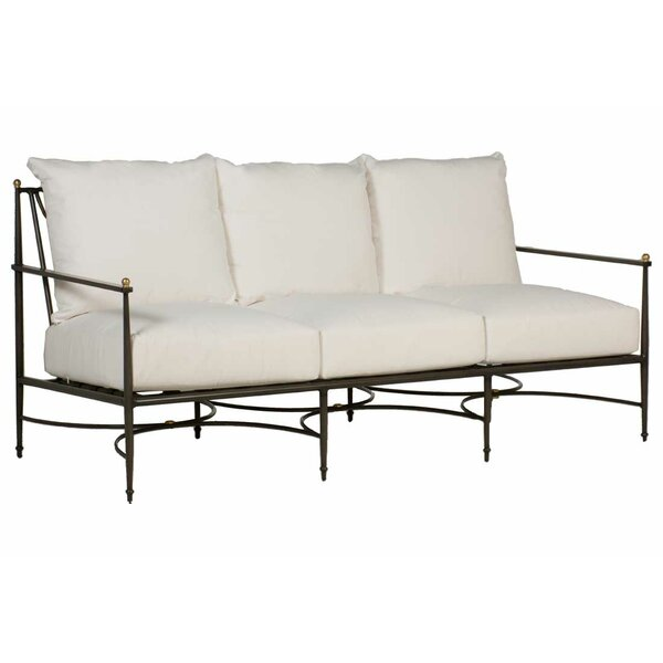 Roma Patio Sofa with Cushions by Summer Classics