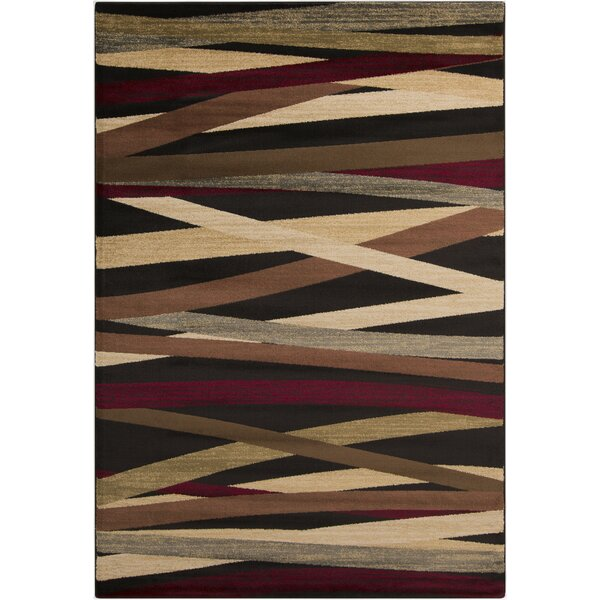 Douglasland Charcoal Area Rug by Ebern Designs