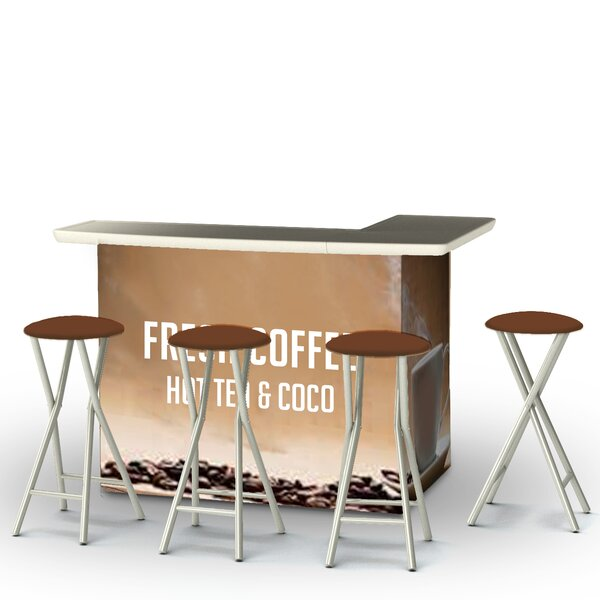Coffee 7 Piece Bar Set by Best of Times Best of Times