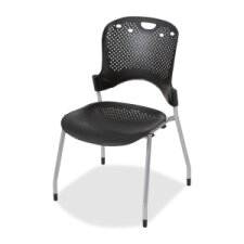 Circulation Armless Stacking Chair (Set of 4) by Balt