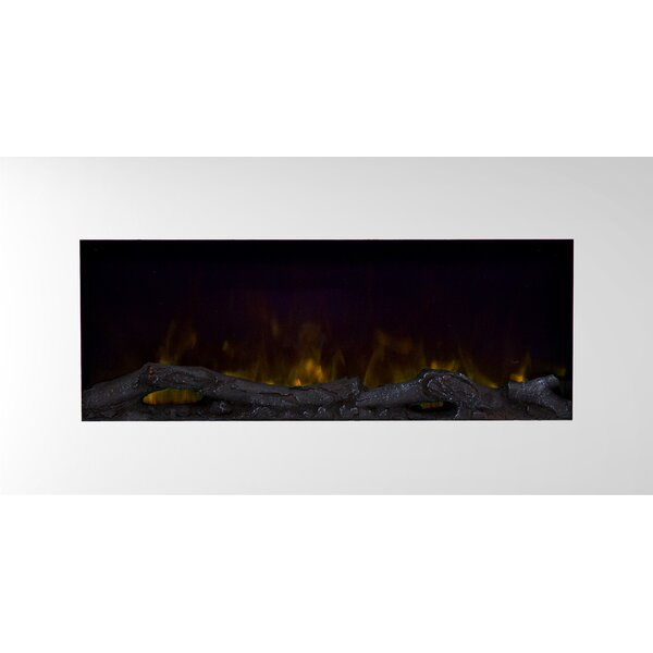 Bedfo LED Wall Mounted Electric Fireplace by Orren Ellis