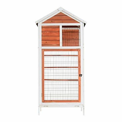 Fratessa Outdoor Aviary Flight Bird Cage House by Tucker Murphy Pet