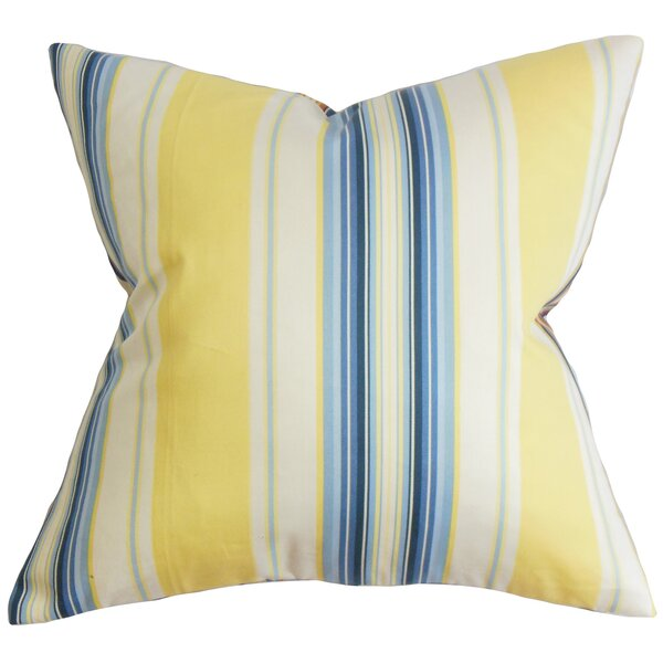Douce Stripe Throw Pillow Cover by The Pillow Collection