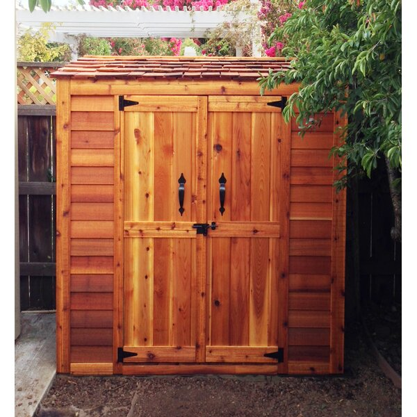 Garden Chalet 6 ft. W x 3 ft. D Wooden Lean-To Tool Shed by Outdoor Living Today