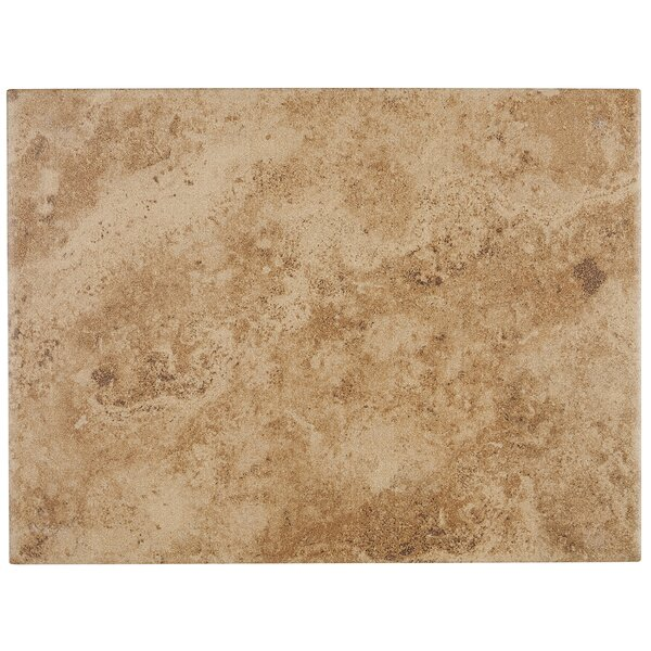 Cromwell 9 x 12 Ceramic Field Tile in Amber by Itona Tile