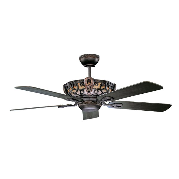 52 Lindsay 5 Blade Ceiling Fan by Fleur De Lis Living
