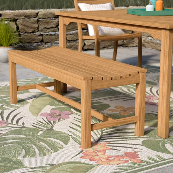 Myler Backless Picnic Bench by Beachcrest Home