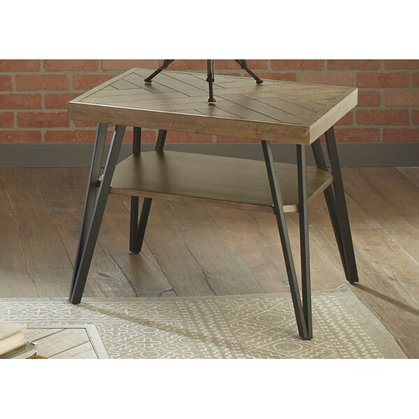 Cleasby End Table By Gracie Oaks