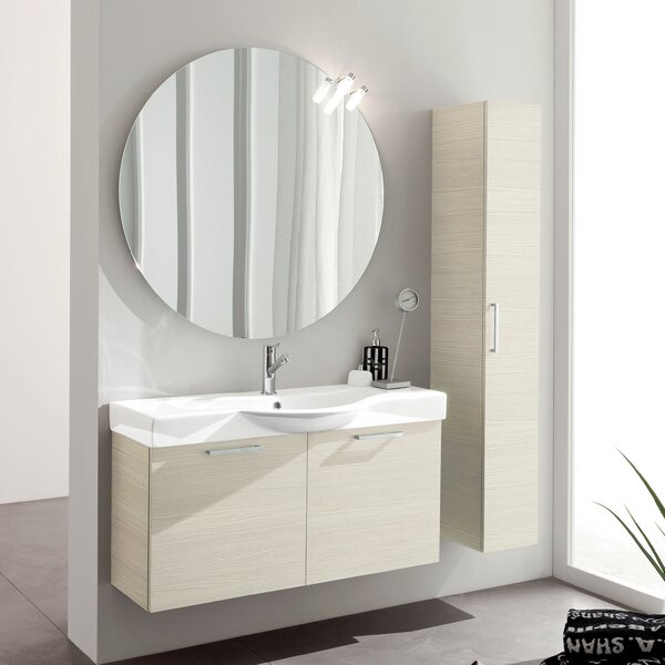 Light Z 9.8 W x 63.5 H Wall Mounted Cabinet by Acquaviva