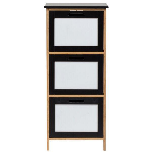 Riddick 3 Drawer Square Accent Chest By Ebern Designs