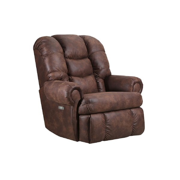 Tuttle Manual Wall Hugger Recliner By Winston Porter